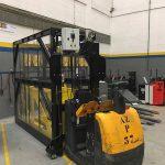 Cliente SONAE - Máquina de transporte de paletes