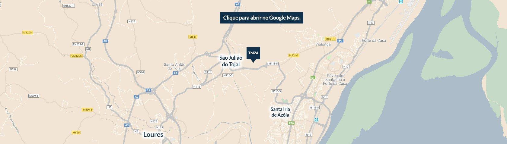 Mapa de Localização TM2A