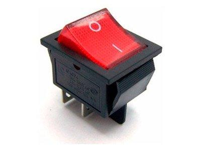 Interruptor Bipolar Luminoso KCD4-4PL