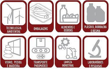 Bombas e compressores de lóbulos de garras - Aplicações