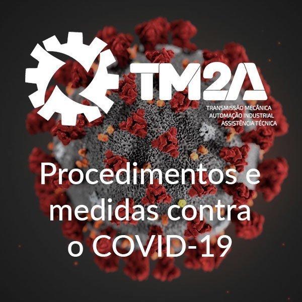 Medidas adotadas na TM2a contra o COVID-19