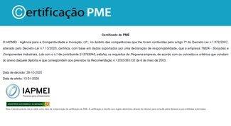 TM2A - Certificado PME 2020